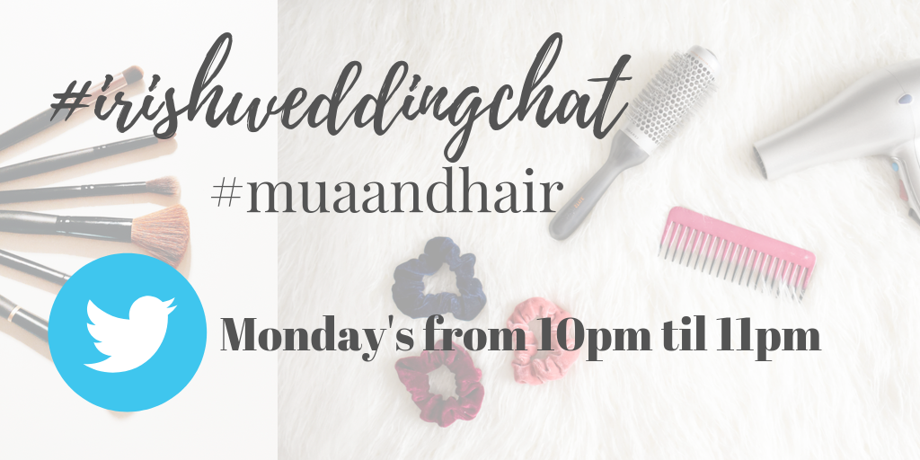#irishweddingchat topic mua and hair