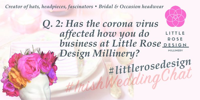 Q 2: HAS CORONAVIRUS AFFECTED HOW YOU DO BUSINESS AT LITTLE ROSE DESIGN MILLINERY?