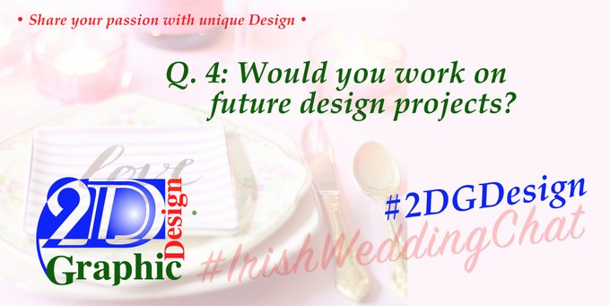 Q 4: Would you work on future design projects?