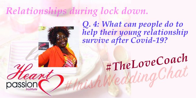 Q4: What can people do to help their young relationship survive after COVD-19?