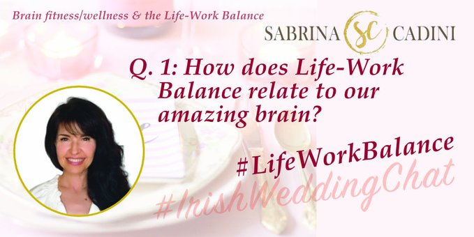Q 1: How does Life-Work Balance relate to our amazing brain? Sabrina Cadini-Holistic Life and Brain Fitness Coach