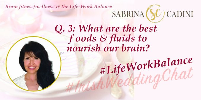 What are the best foods and fluids to nourish our brain?  Sabrina Cadini-Holistic Life and Brain Fitness Coach