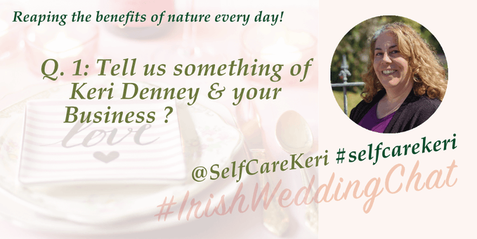 Reap the benefits of nature  Q1: Tell us something of Keri Denney & your Business?