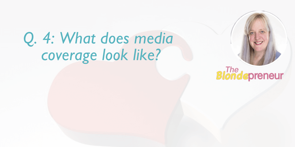 What does media coverage look like? | get your business media coverage Q & A with theblondepreneur on Irish Wedding Chat